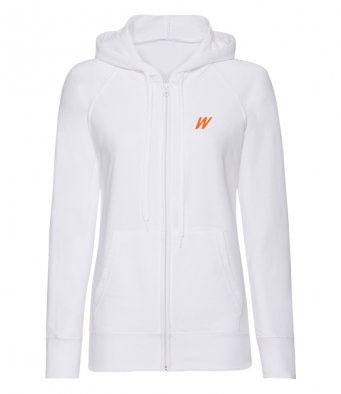 WolfeKit Stabilize Zip Up Hoodie White