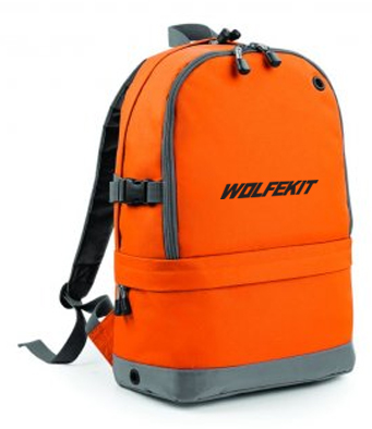 WolfeKit Pioneer Backpack Sunburst Orange