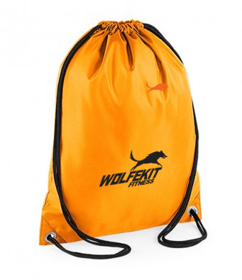 WolfeKit Culture Drawstring Bag Tanned Orange