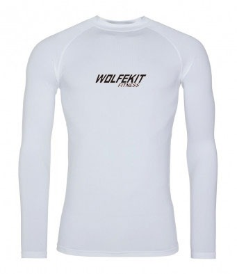 WolfeKit Crossfit Base Layer LS Wordmark