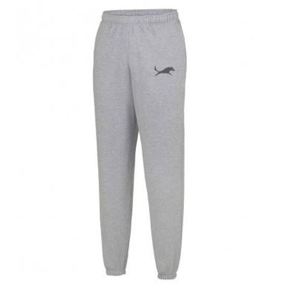 WolfeKit Dash Wolf Tracksuit Bottoms Grey